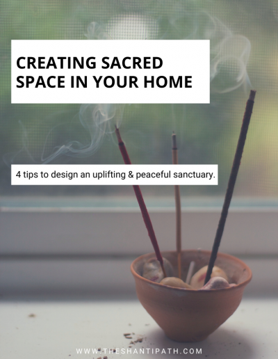 Creating Sacred Space In Your Home
