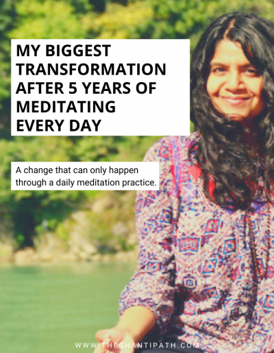 My Biggest Transformation After 5 Years of Meditating Every Day