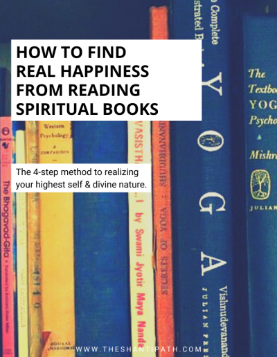 How To Find Real Happiness From Reading Spiritual Books