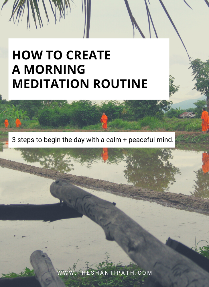 How To Create A Morning Meditation Routine