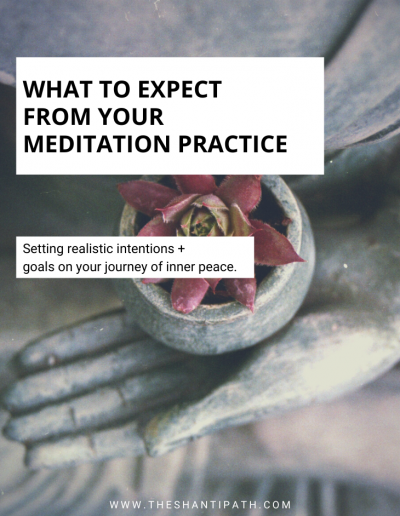 What To Expect From Your Meditation Practice